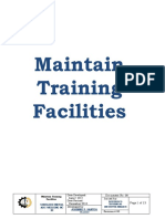 Maintain Training Facilities (Complete docs)
