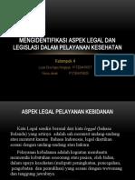 PPT aspek legal dan legislasi dalam Pelayanan Kesehatan