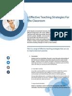 7 Effective Teaching Strategies