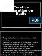 Advertising - Radio
