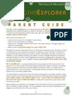 Strengths Explorer Parent Manual