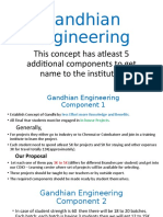 Gandhian Engineering