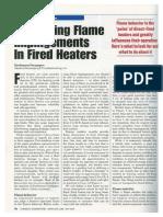 Minimizing Flame Impingment