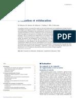 Evaluation Et Rééducation