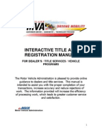 Interactive Title and Registration Manual