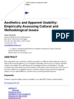 CHI 97_ Aesthetics and Apparent Usability_ Empirically Assessing Cultural and Methodological Issues