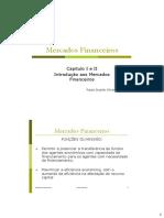 01 Cap I e II - Introdução aos Mercados Financeiros