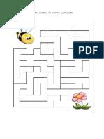 AJUTA albina sa ajunga la floare
