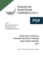 Penuntun Pr Farmakologi II 2020.docx