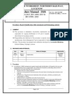 7. Procedure- Hazard Identification and Risks Assesment