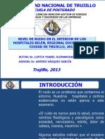 ruidoenhospitalesdetrujillo2013-130119233118-phpapp02