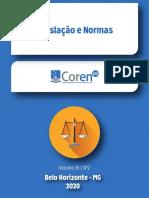 Manual Legislação e Normas 2020 Coren MG
