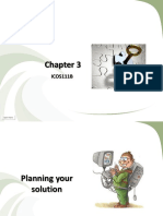 Planning you Solution - Lesson 3