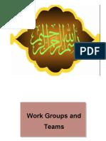(8) Work Grp & Team