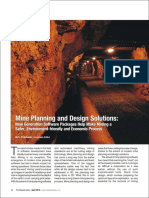Mine Planning and Design Solutions