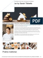 Sarah Tibbetts Praline Mallomar by  - Pastry Recipes in So Good Magazine