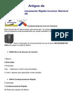 Comissionamento rápido Inversor Siemens Micromaster 440