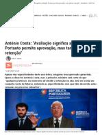 António Costa_ _Avaliação significa avaliação. Portanto permite aprovação, mas também retenção_ - Atualidade - SAPO 24.pdf