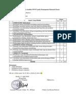 Penilaian Hasil Analisis SWOT pada Penanganan Skenario Kasus Pertemuan V Jurnal Peran Advokat Perawat 'Nadia' 17_4_2020