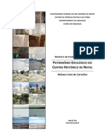Monografia Patrimônio Geológico do Centro Histórico de Natal - Heliana Carvalho 2010