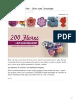ctejidas.co-200 Flores a Crochet  Libro para Descargar.pdf