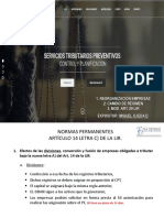 Foro Reforma Servicios Tributarios Preventivos Miguel Ojeda