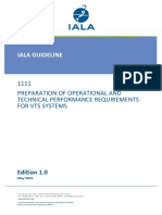 1111 Ed.1 Preparation of Operational and Technical Performance Requirements for VTS Systems May2015