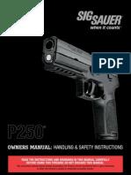 Sig P250 Manual
