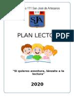 PLAN LECTOR SECUNDARIA 2020