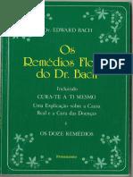 60248756 Os Remedios Florais Do Dr Bach Ed Pensamento