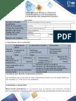 Guía para el desarrollo del componente pra¦üctico - Tarea 4 - Pra¦ücticas virtuales