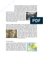 La Primera y Segunda Guerra Mundial, causas, efectos, paises
