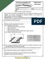 Devoir de Contrôle N°2 Collège pilote - Physique - 9ème (2016-2017) Mr Affi Fathi.pdf