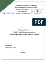 cours genie pharmaceutique 2016 FATMI.pdf