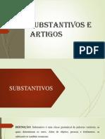 SUBSTANTIVOS E ARTIGOS_6º ANO_CEAG