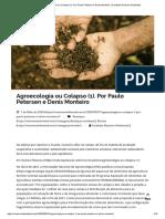 Agroecologia ou Colapso (1). Por Paulo Petersen e Denis Monteiro _ Combate Racismo Ambiental.pdf
