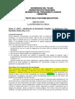 DOCUMENTO DE LECTURA. LA INTELIGENCIA CIEGA Y EL PENSAMIENTO COMPLEJO.doc