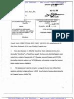 MAIN STREET TITLE & SETTLEMENT SERVICES, LLC v. ACE AMERICAN INSURANCE COMPANY et al Complaint