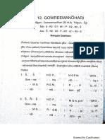 Gowree Manohari