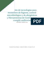 Aplicación de tecnologías para monitoreo de higiene