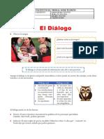 GUIA ESPAÑOL TERCERO EL DIALOGO