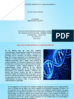 GENETICA Y COMPORTAMIENTO