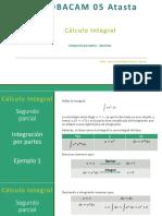 Integración Por Partes - Ejemplos