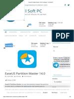 EaseUS Partition Master 14.0 Full (Mega) - Full Soft PC