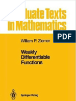 Weakly Differ en Ti Able Functions