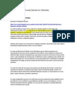 La efectividad del acoso laboral en Colombia