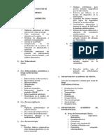Líneas de investigación por departamentos
