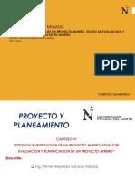 Estudios de investigacion de un proyecto Minero