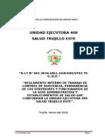 REGLAMENTO INTERNO DE TRABAJO  PERSONAL RED TRUJILLO 2016-OK