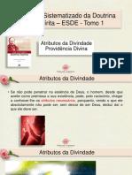 PDF Aula 11 - Atributos da divindade e providência divina